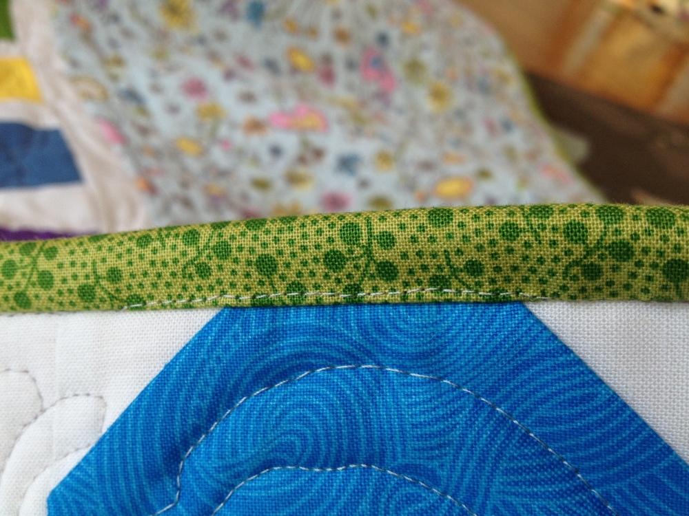 Friday Finish: Lillian's Baby Quilt (5/6)
