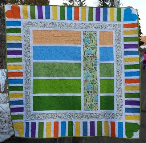 lillians baby quilt