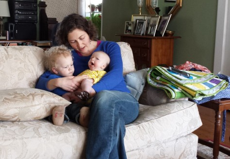 My son Max wanted Lillian on his lap, always. He was so very gentle!