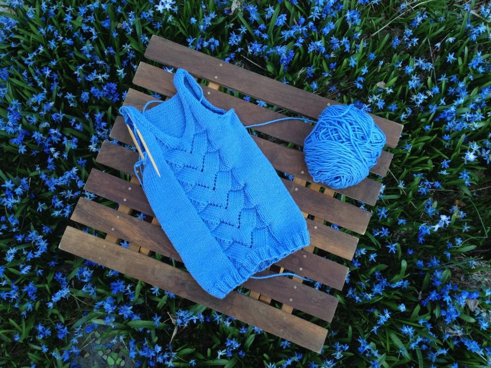 Beauteous, Bountiful, Botanical Blue! (4/6)
