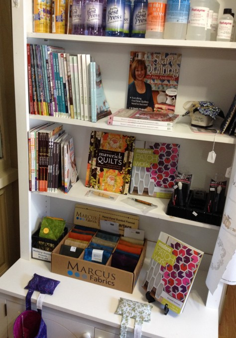Some of their books, including some Modern Quilting options!