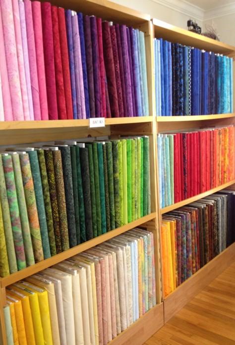 Colorful blenders... beautiful!