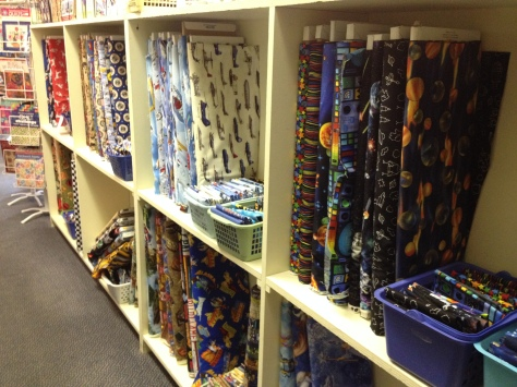 Themed fabric galore!