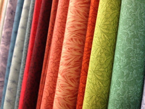 Luscious fabric colors!