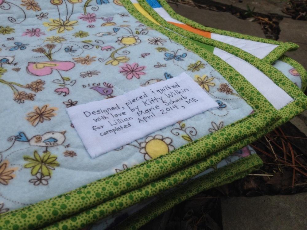 Friday Finish: Lillian's Baby Quilt (3/6)