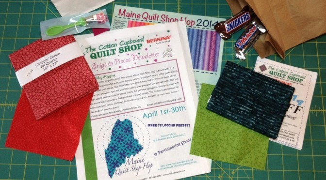 Maine Quilt Shop Hop 2014: Bangor Day