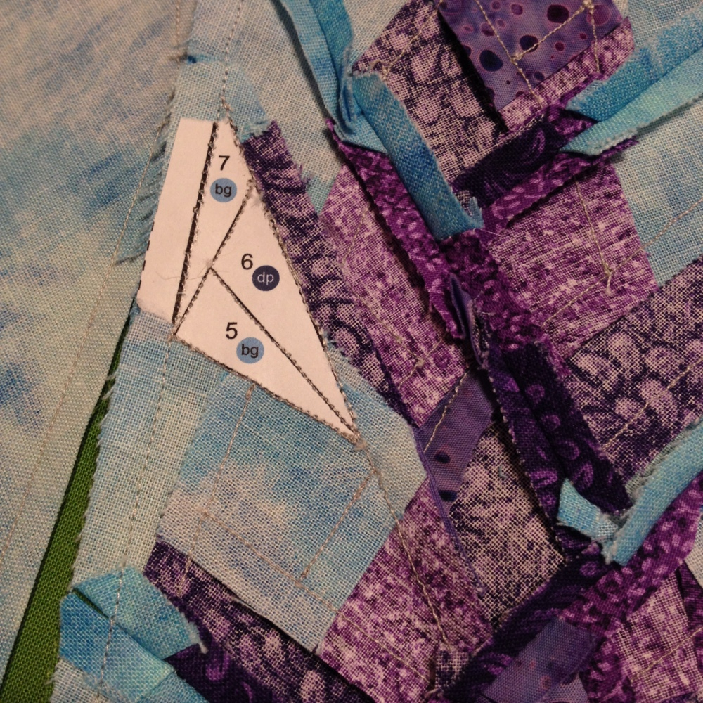 Friday Finish: Lupine, a Foundation Paper Piecing Pattern (6/6)