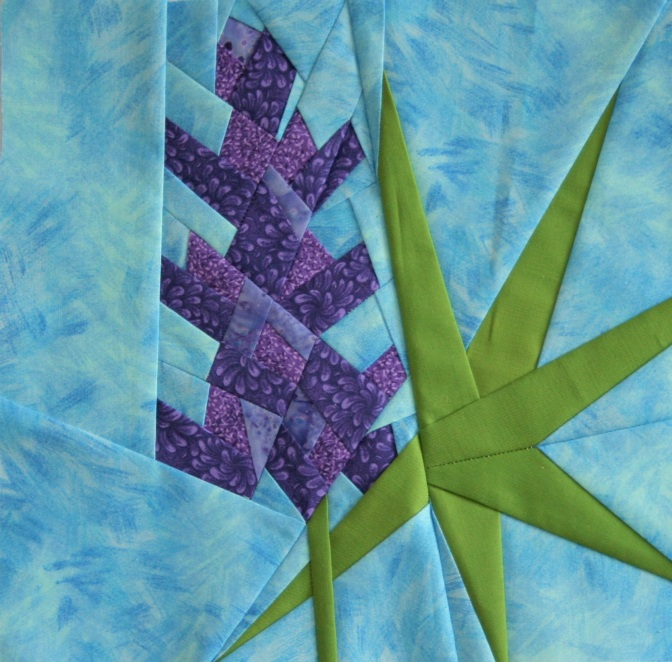 Friday Finish: Lupine, a Foundation Paper Piecing Pattern