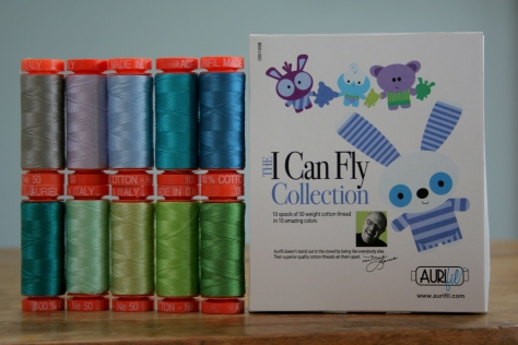 i can fly aurifil thread kit