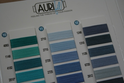 aurifil color card