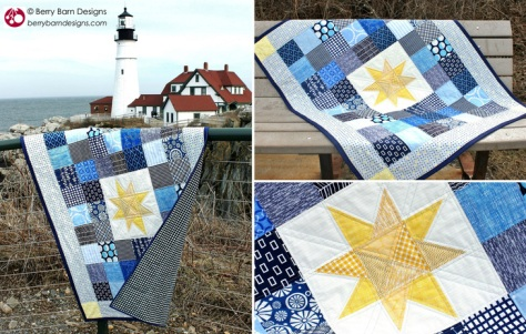 A favorite baby quilt by Berry Barn Designs.