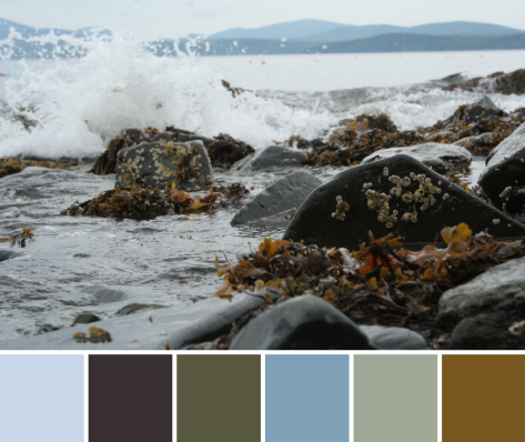crashing tide color palette