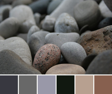 lake erie stone color palette