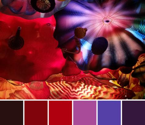 glass art color palette