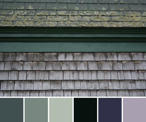 earthy palette
