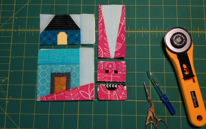 Mini Snail House: Free FPP Pattern