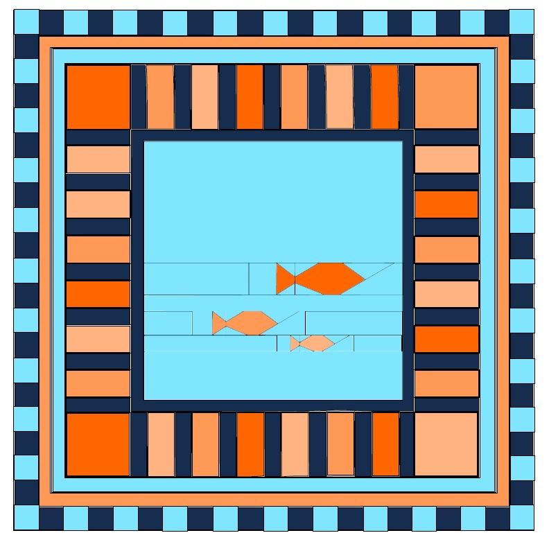 Friday Finish: Fishies FPP Panel Pattern (5/6)