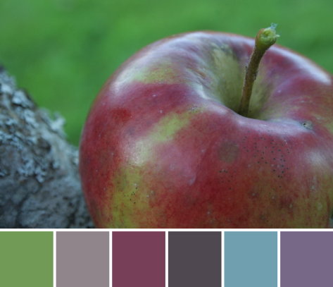apple pastel color palette