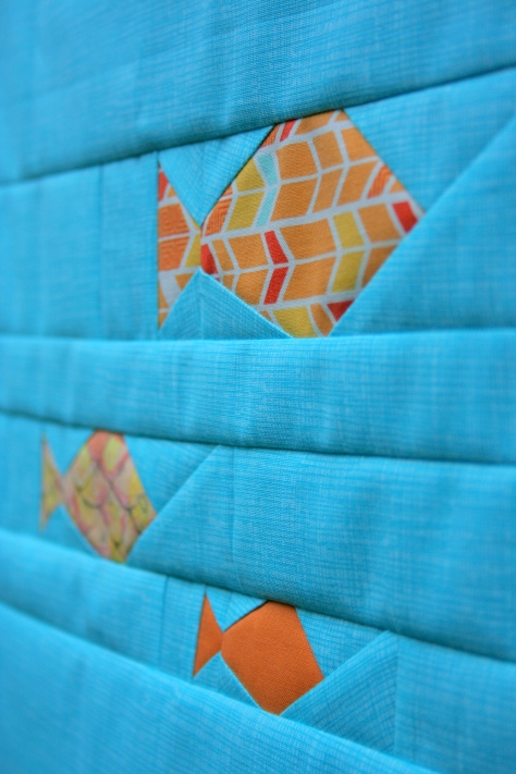 foundation paper pieced fish pattern