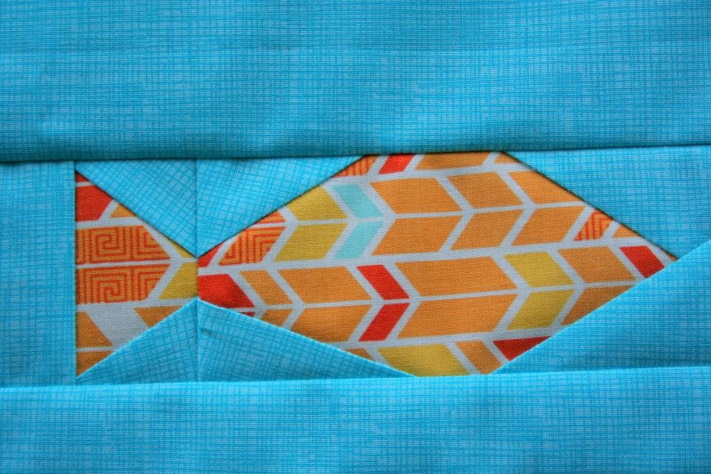 Friday Finish: Fishies FPP Panel Pattern (3/6)