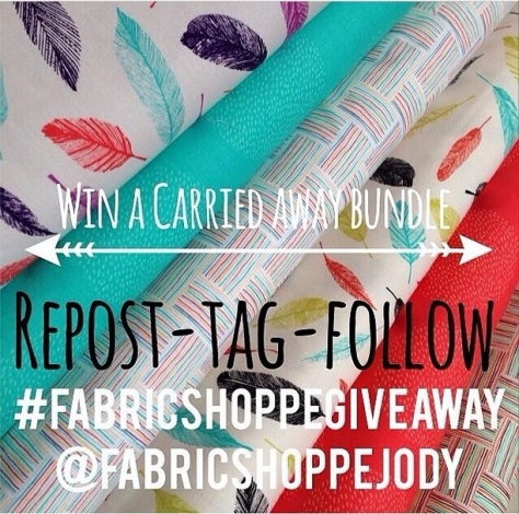 IG Fabric Shoppe Giveaway