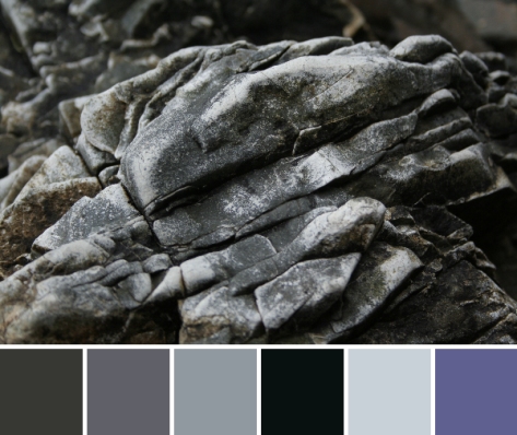stone color palette
