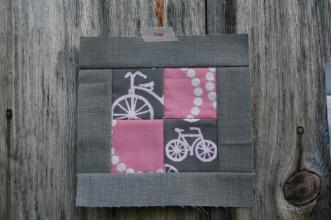tula pink block 83 modern quilt