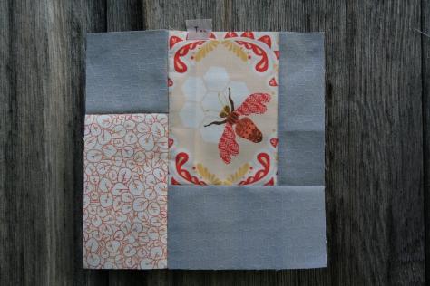 tula pink block 33 modern quilt