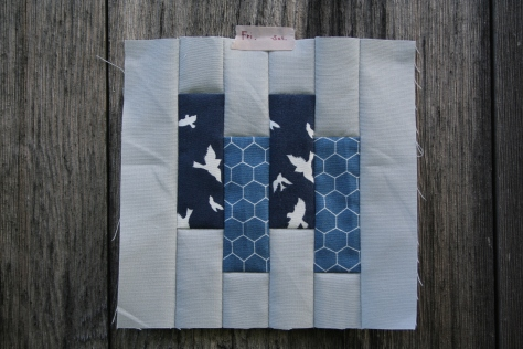 tula pink block 65 modern quilt