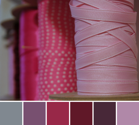pink ribbon color palette