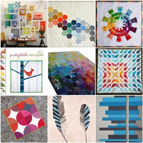 mini quilt swap inspiration board