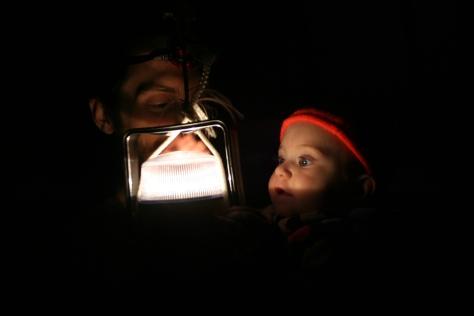 night time lantern fun