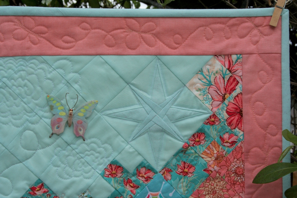 Secret Garden Quilt: Attalie's June Garden (3/6)