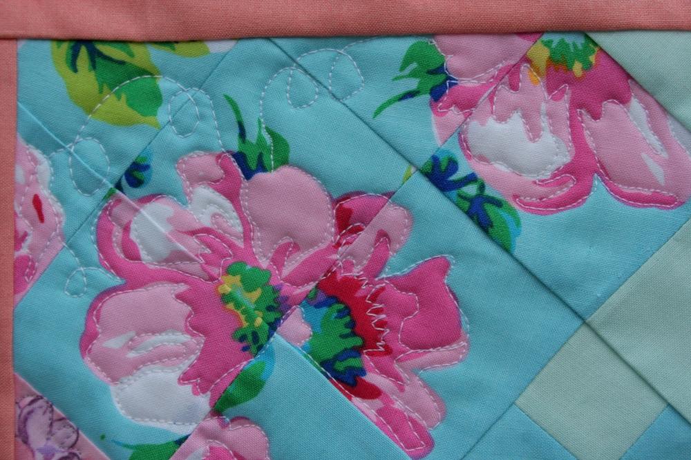 Secret Garden Quilt: Attalie's June Garden (4/6)