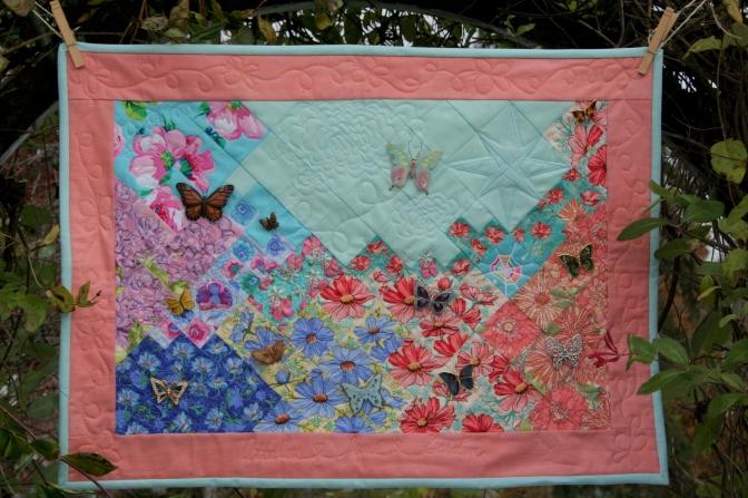 butterfly garden quilt