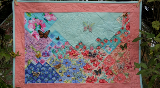 Secret Garden Quilt: Attalie's June Garden