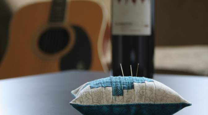 A Perfect Pair: Wine and Fabric {Tremolo}