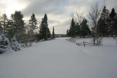 snow maine