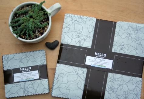 Botanics fabric, two ways.