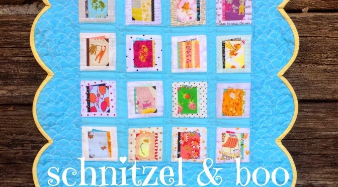 Schnitzel and Boo Mini Quilt Swap: I'm in!