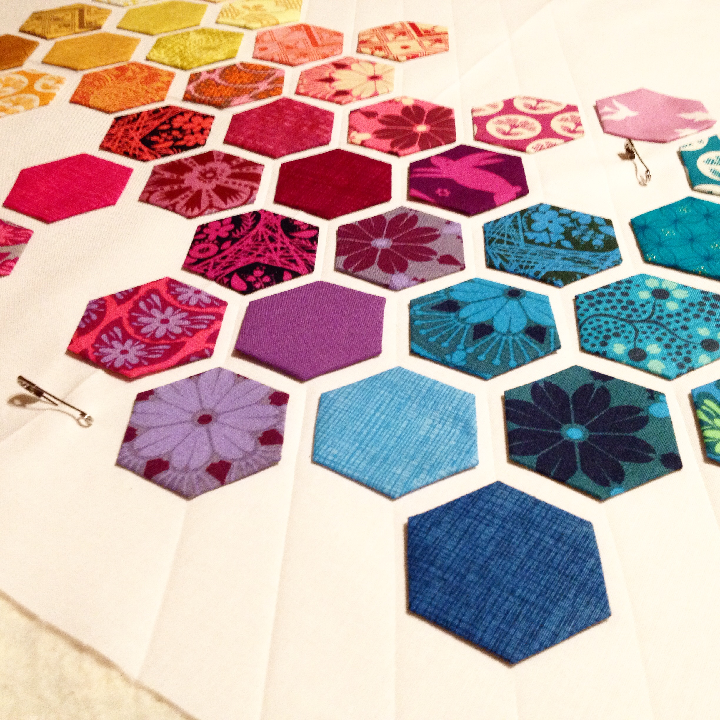 Hexagon Quilt Night Quilter