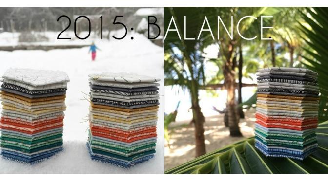A New Year's Goal: Balance