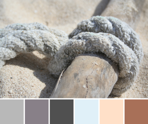 beach cozumel color palette