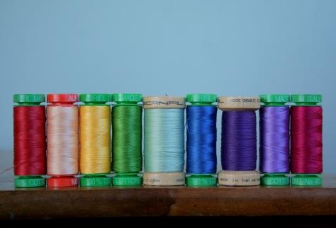 rainbow thread gradient