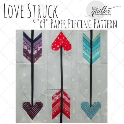 Love struck pattern