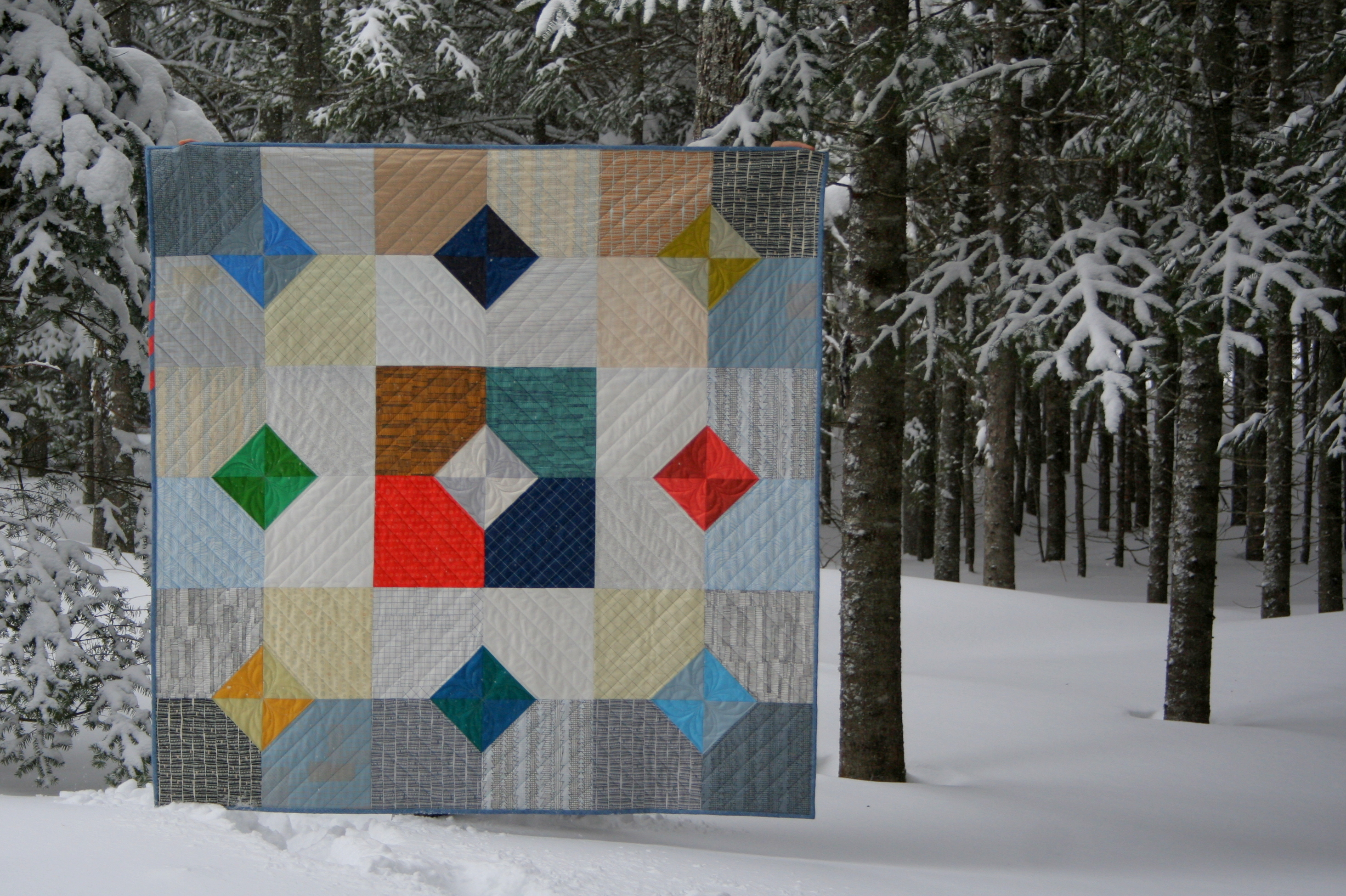 Doe Layers Of Charm Quilt A Giveaway Night Quilter
