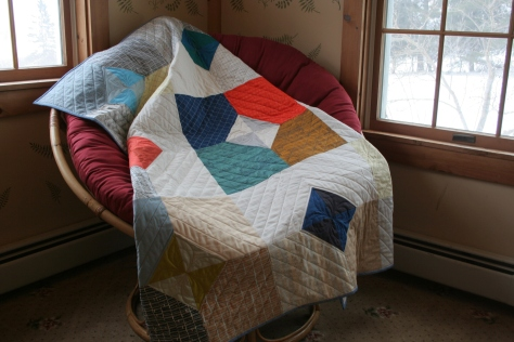 Doe layers of charm quilt