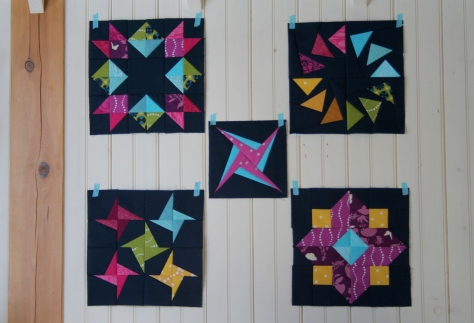 navy is the new black quilt blocks