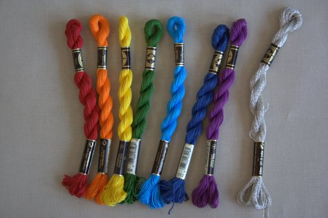 embroidery floss organization tip