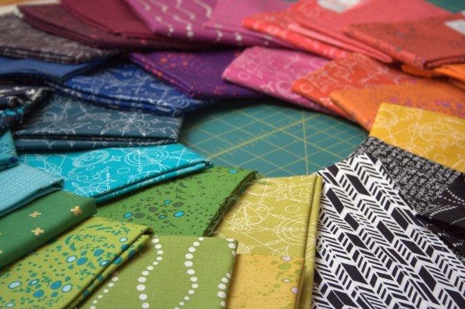 alison glass rainbow fabric